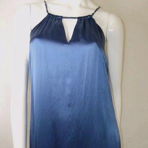 BcbgMaxazria dress navy blue size 4/6 (Medium)
